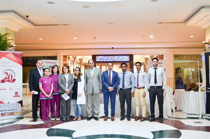 Al Bustan Centre & Residence organises free health check-up in association with Clinicare