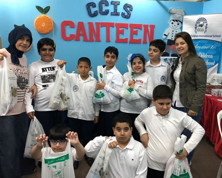 TSC Hosted Creative Children International School (CCIS) Students in Real-life Shopping Experience