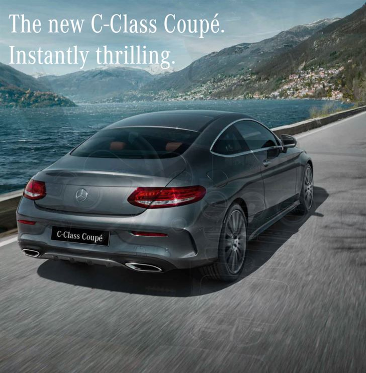 Price of New Mercedes Benz C-Class Coupe in Kuwait