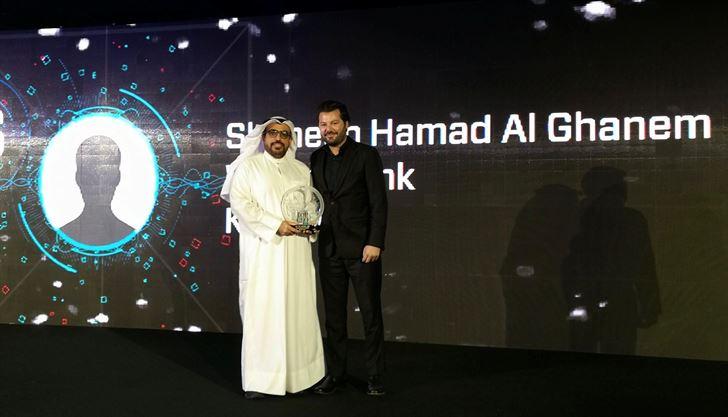 """الرئيس التنفيذي لبنك وربة: شاهين حمد الغانم، من ضمن لائحة جائزة """"أفضل رئيس تنفيذي"""" لعام 2017"""