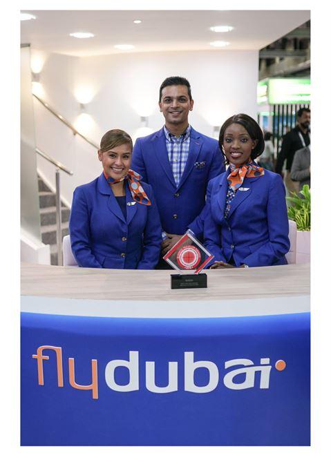 فلاي دبي تنال تقدير قطاع الطيران