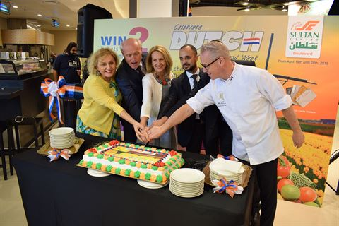 "The Sultan Center Hosts ""Dutch Healthy Food Week"""