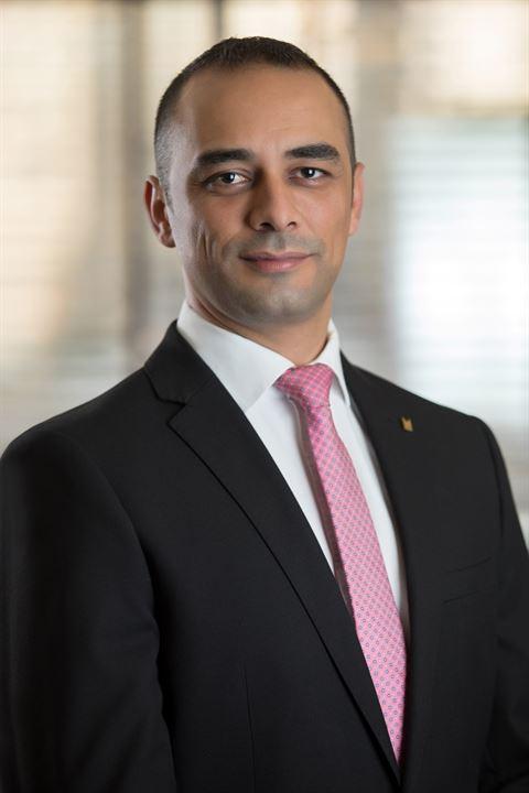 بسام زكريا مدير عام فندق كنجزجيت أبو ظبي