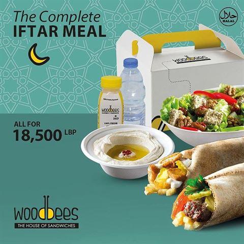 Woodbees Ramadan 2018 Iftar Offer