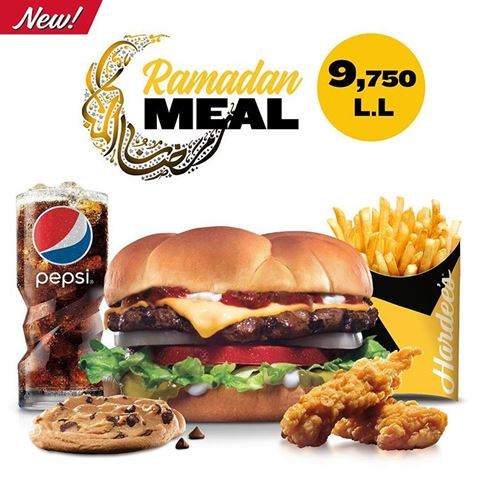 Hardees Lebanon Ramadan 2018 Iftar Offer