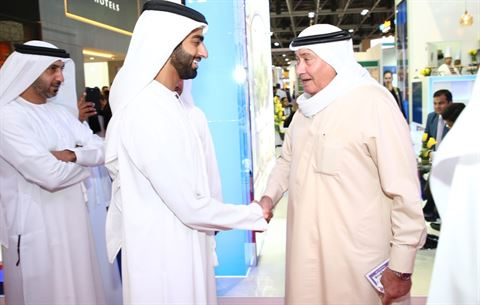 A.A. Al Moosa Enterprises welcomes UAE's key VIPs and dignitaries to its stand at AT