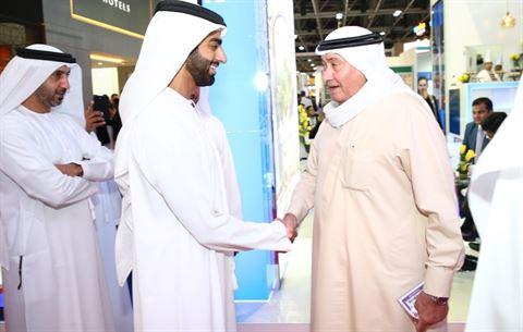 شركة مشاريع عبدالله أحمد الموسى رحبت بالشخصيات البارزة بدولة الإمارات العربية المتحدة في منصتها في سوق السفر العربي