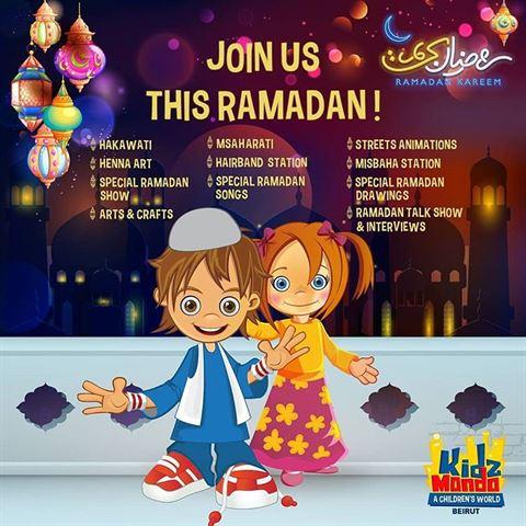 KidzMondo Beirut Ramadan 2018 Activities