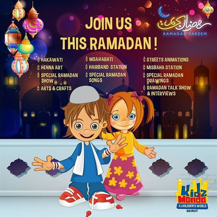 KidzMondo Beirut Ramadan 2018 Activities
