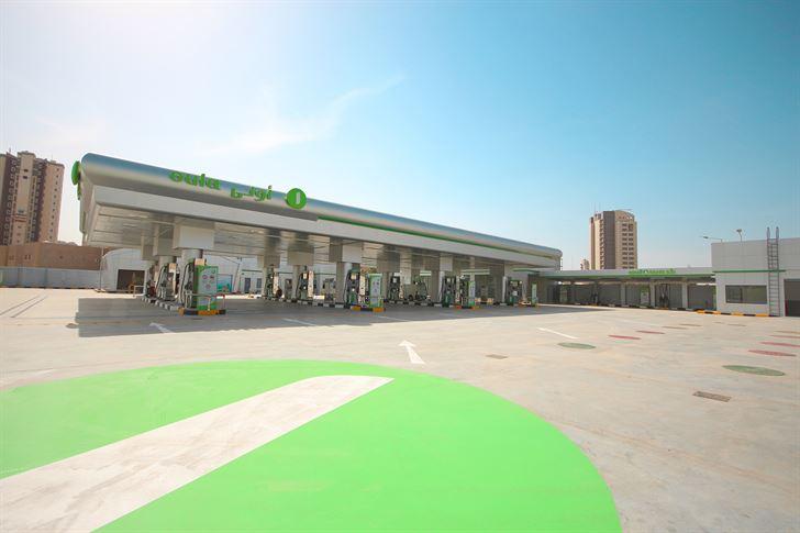 """""""الأولى للوقود"""" تعيد افتتاح محطة السالمية بوقت قياسي"""
