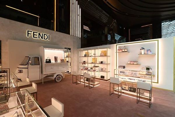 Fendi Pop up is Now Open at Prestige - Avenues Mall