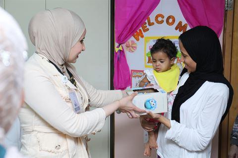 برنامج فعاليات بنك وربة خلال شهر رمضان المبارك حقق أهدافه بالتشجيع على العطاء