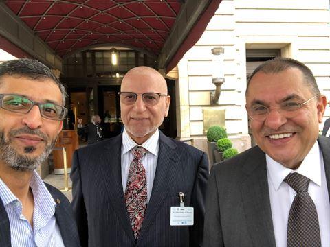 """الرئيس التنفيذي لشركة الراية يشارك في فعاليات الدورة الـ21 """"للملتقى الاقتصادي العربي – الألماني"""""""