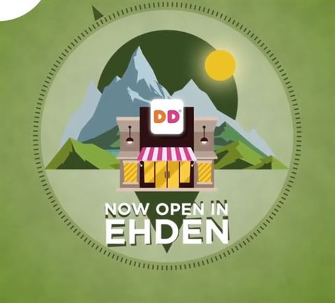 Dunkin Donuts Lebanon is Now Open in Ehden