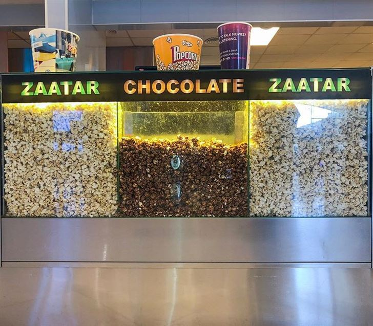Flavors of Popcorn at VOX Cinemas Lebanon