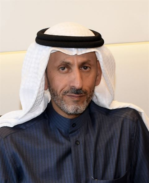 راشد فهد الدويلة، رئيس مجلس إدارة شركة عذراء العقارية