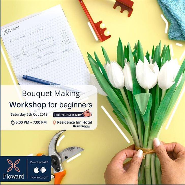Floward Bouquet Making Workshop For Beginners on 6 October 2018