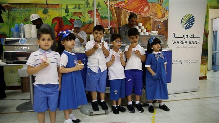 بنك وربة يختتم زياراته لموسم إنطلاقة العودة إلى المدارس
