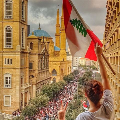 Amazing Photos from The Lebanese Revolution 2019