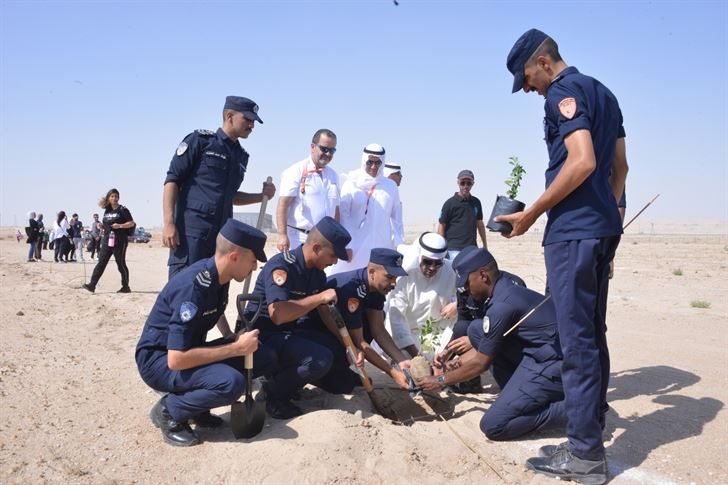 Environment Public Authority campaign for Afforestation of Al-Jahra Natural Reserve Sponsored by KGL
