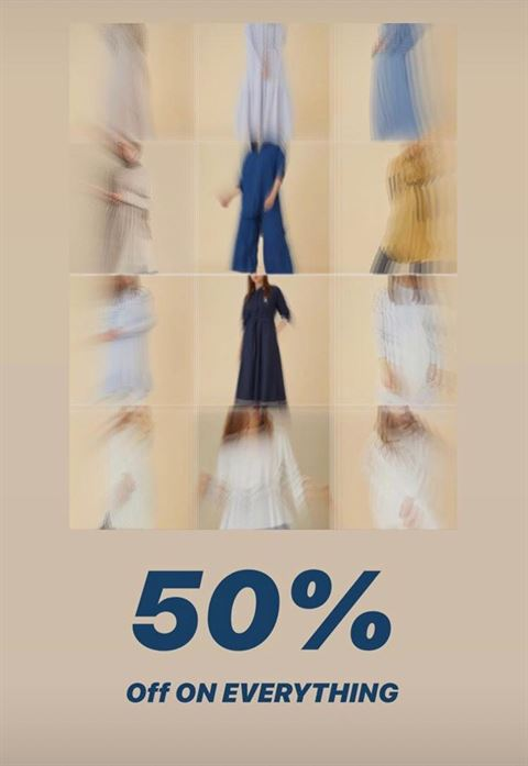 Alzein Boutique Sale Started - 50% Off on Everything