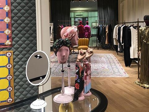 Gucci Store in 360 Mall Reopened After Renovation