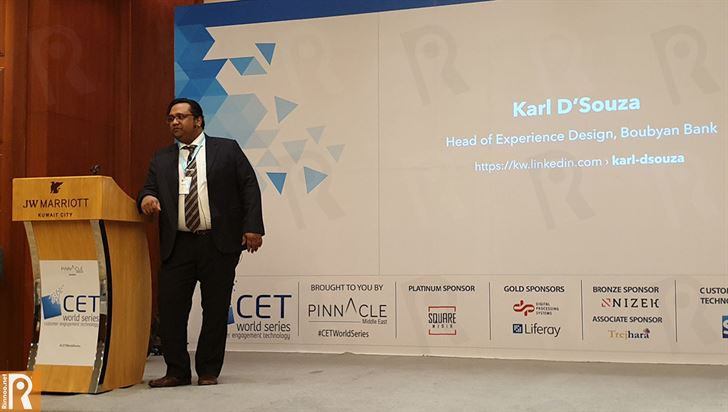Karl D'Souza, Head of Experience Design – Digital Innovation Center, Boubyan Bank