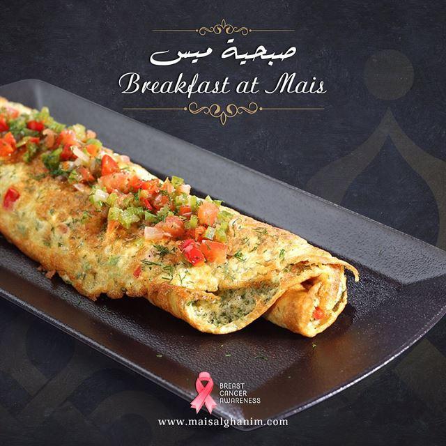 مطعم ميس الغانم يطلق قائمة فطور للمرة الأولى