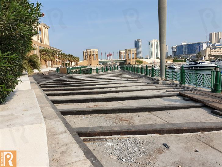 Photos ... Souq Sharq Mall Renovating Seaside Walkway