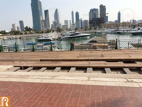 Photos ... Souq Sharq Mall Renovating Seaside Walkway