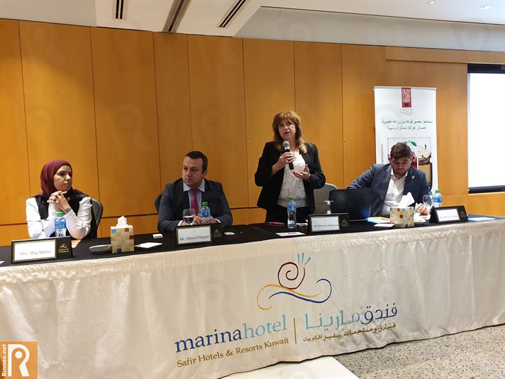 الاتحاد الأوروبي يروج للعصائر الأوروبية العضوية في الكويت