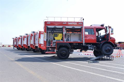 KGL Provides Kuwait Fire Station Department with Advanced Winter's Machineries