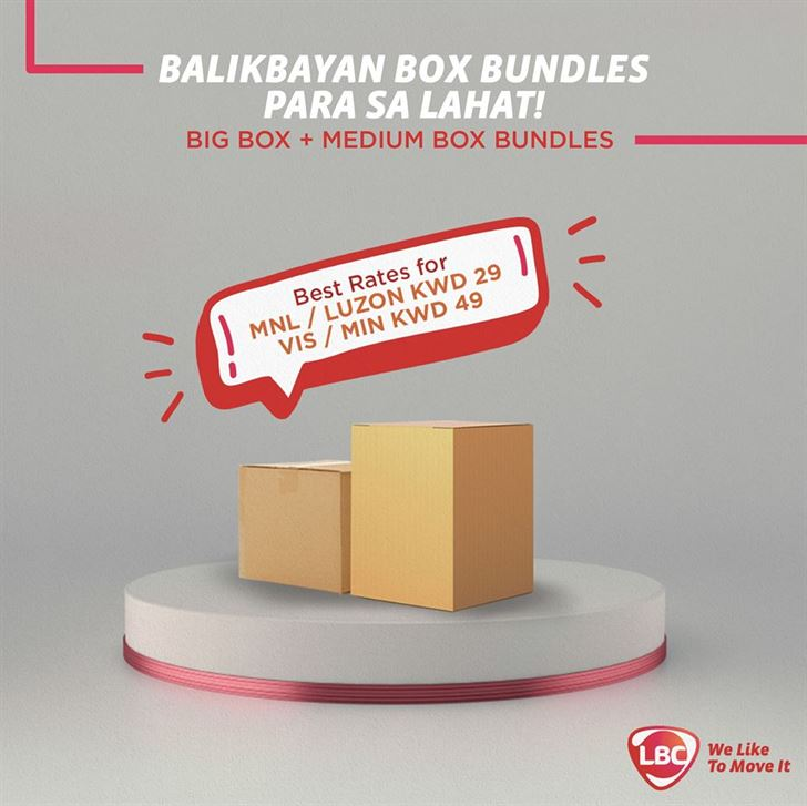 LBC End of 2019 Affordable Bundles for Sending Boxes to Philippines