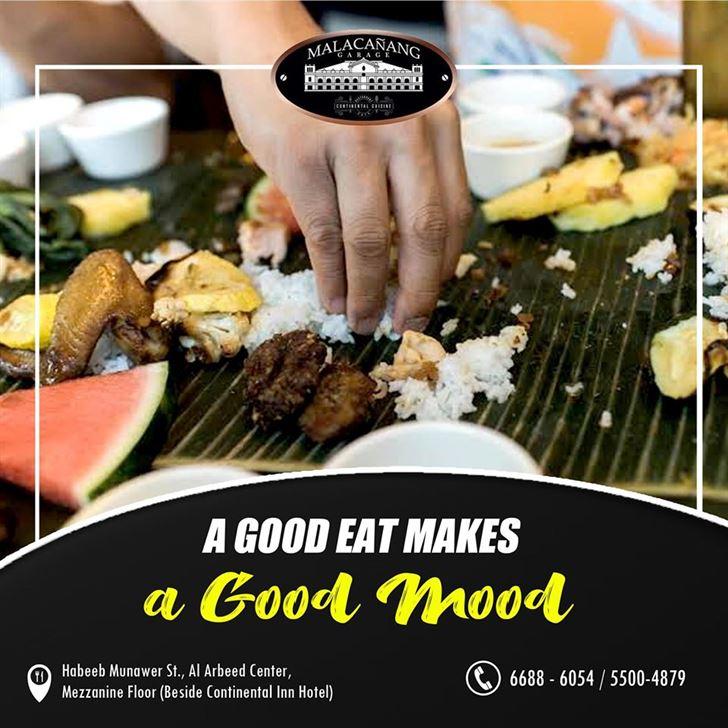 Malacanang Garage Restaurant Buffet Offer Every Friday