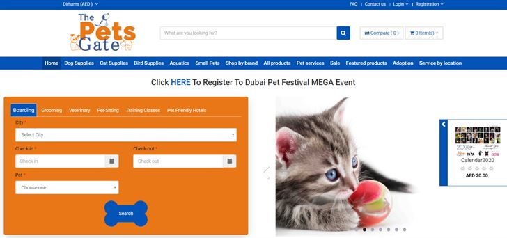 The Pets Gate ... UAE's Largest Online Marketplace for Pet Services and Products
