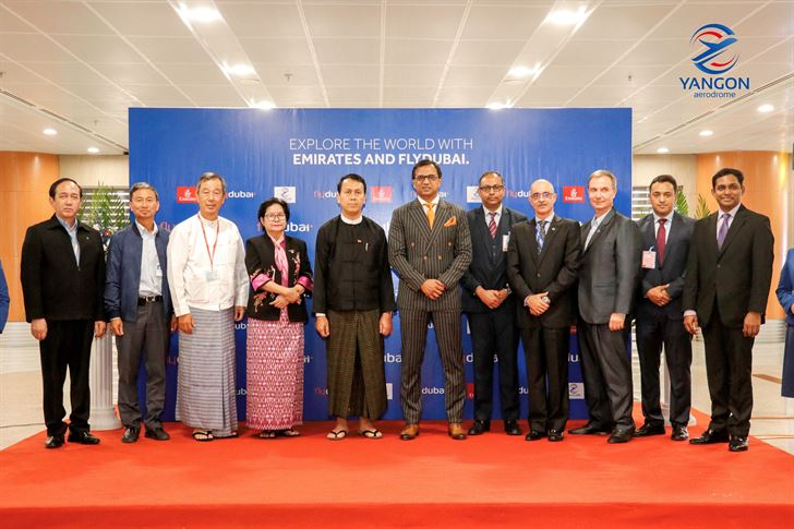 Dubai-based Airline flydubai lands in Yangon