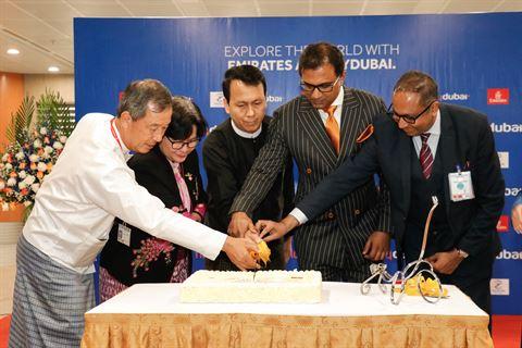 Dubai-based Airline flydubai lands in Yangon