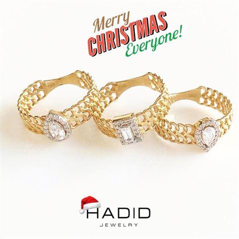 """مجموعة أكثر من رائعة يقدمها لك """"HADID Jewelry"""" لتكوني متألقة في فترة الأعياد"""