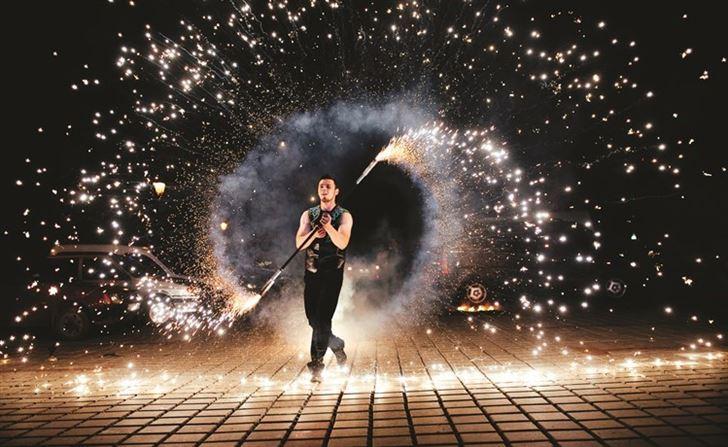 سهرة فندق فورسيزونز ليلة رأس السنة لاستقبال عام 2020