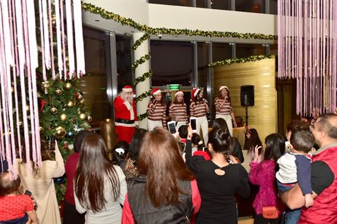 Hotel Glistening Christmas trees Takes Over Symphony Style Kuwait