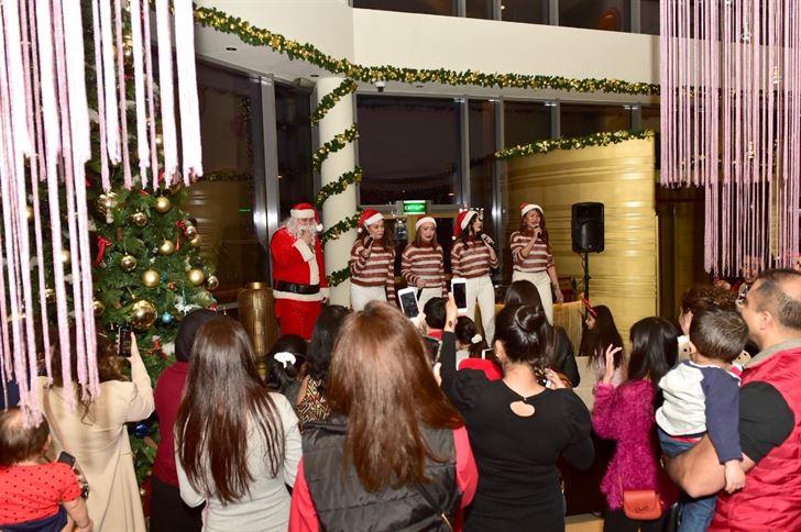 Hotel Glistening Christmas trees Takes Over Symphony Style Kuwait