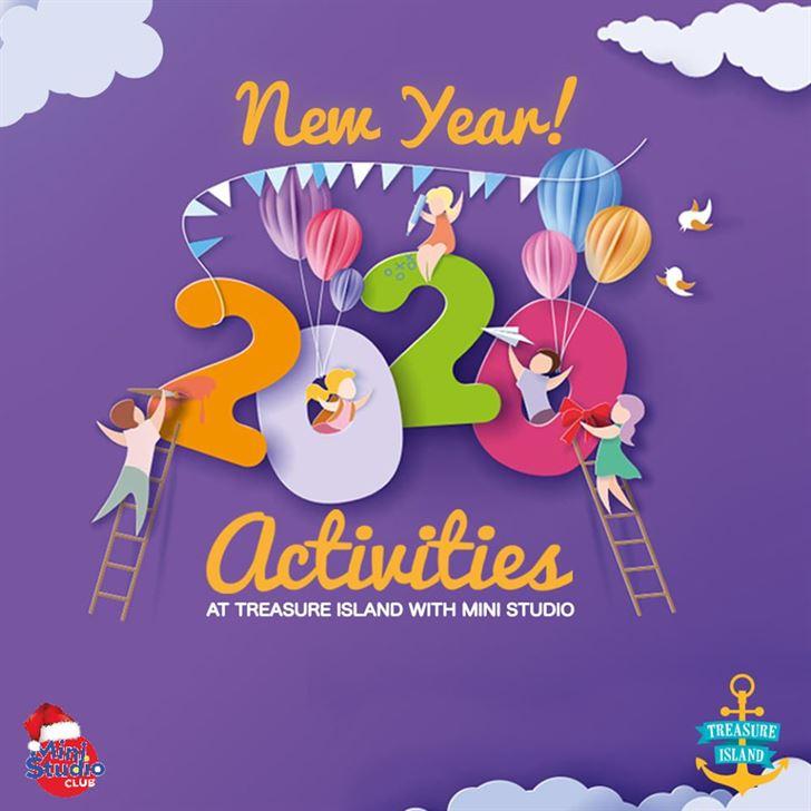 NEW YEAR ACTIVITIES AT TREASURE ISLAND