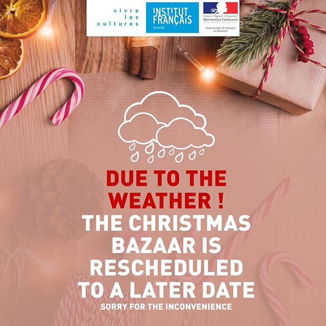 Christmas Bazaar 2019 at the French Institute in Kuwait