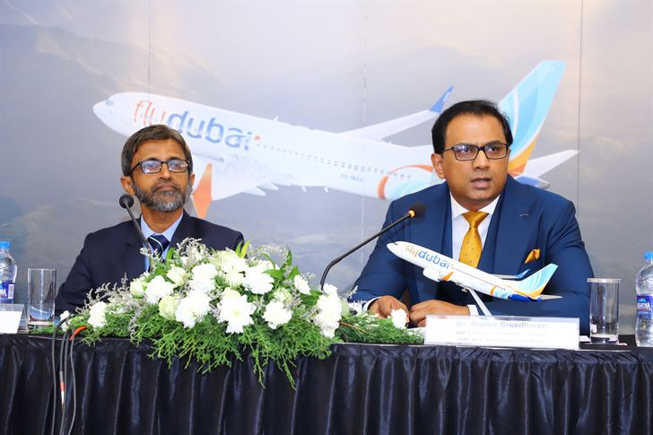 فلاي دبي تفتتح رحلاتها الى كاليكوت الهندية