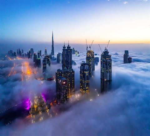 10 Breathtaking Shots in Dubai Taken by Khaled Hassan