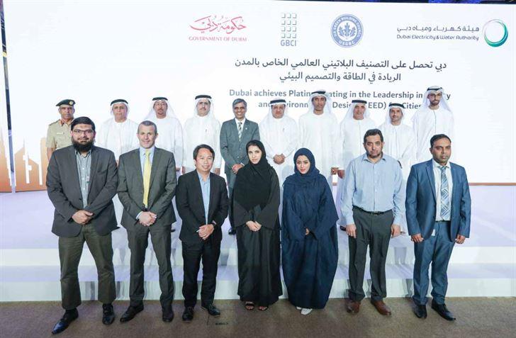 """دبي تحصل على التصنيف البلاتيني العالمي الخاص بالمدن """"LEED"""""""