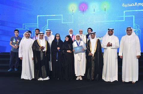 النادي العلمي توَّج الفائزين بجوائز مسابقة الكويت للعلوم والهندسة السابعة 2019