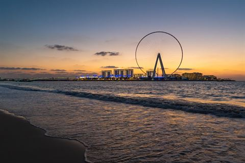 Ain Dubai Observation Wheel to be Completed for Expo 2020