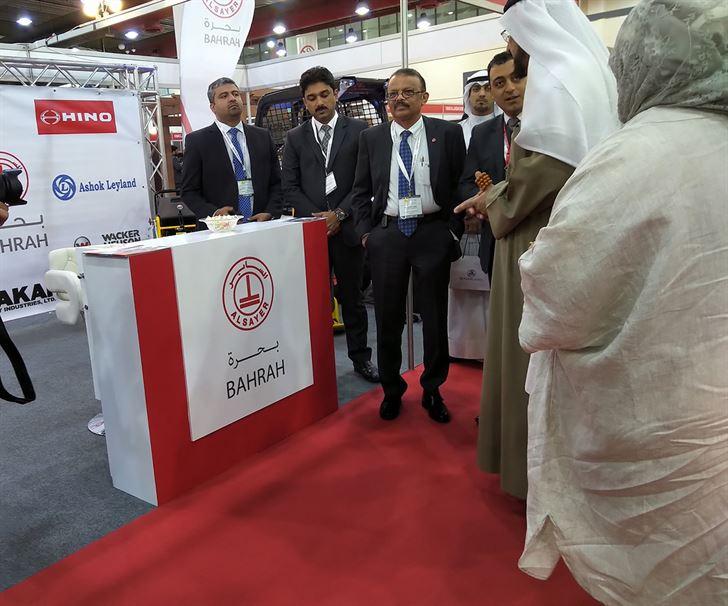 شركة بحرة تشارك في معرض أسبوع الكويت للبناء والإنشاءات 2019