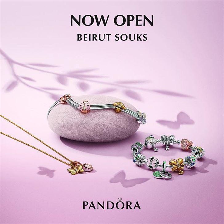 PANDORA Opens New Branch in Beirut Souks Lebanon